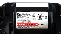 VeriFone vx520 product number location